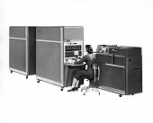 IBM introduces the IBM 650 Data Processing System which was the first mass produced computer selling 450 of them in the first year New York 1954