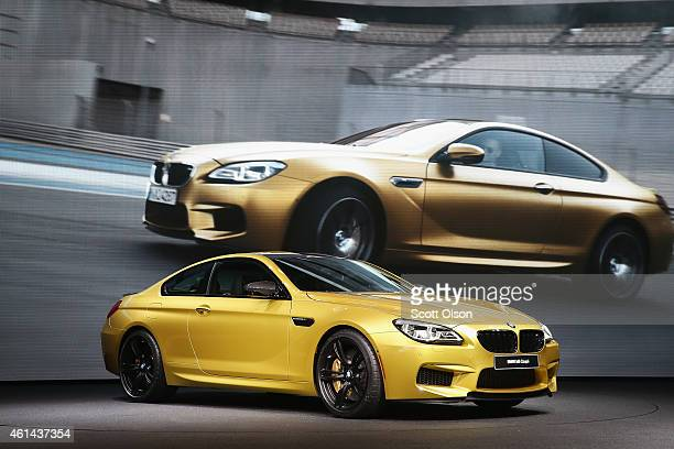 BMW introduces the new line of 6 Series cars at the North American International Auto Show on January 12 2015 in Detroit Michigan More than 5000...