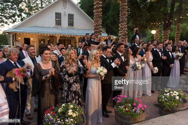 RULES 'Introducing Mr Mrs Schwartz' Episode 521 Pictured Lisa Vanderpump Pandora VanderpumpTodd Stassi Schroeder Tom Sandoval Jax Taylor Brittany...