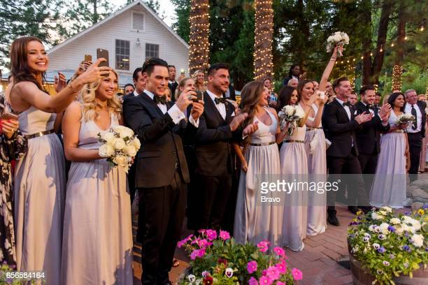 RULES 'Introducing Mr Mrs Schwartz' Episode 521 Pictured Stephanie Corneliussen Stassi Schroeder Tom Sandoval Jax Taylor Brittany Cartwright Scheana...