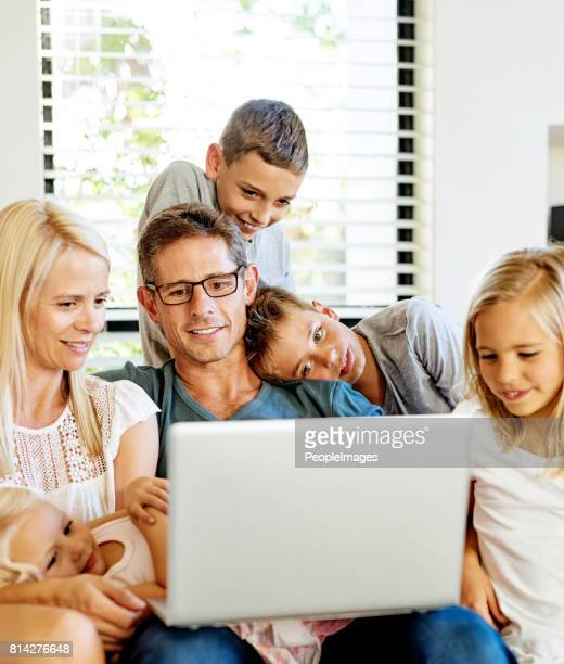 Introducing their kids to the online world