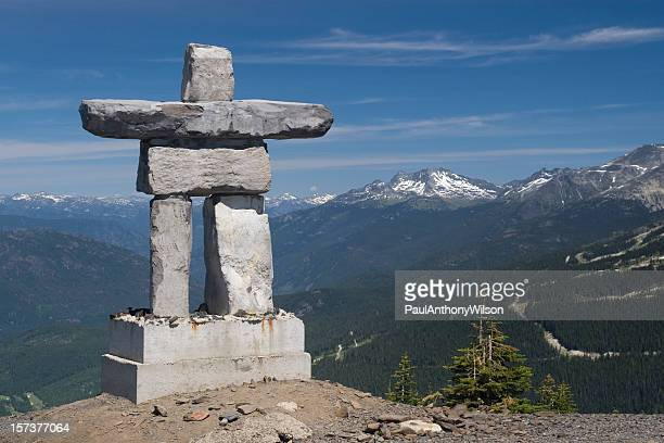 Inukshuk on Mt. Whistler