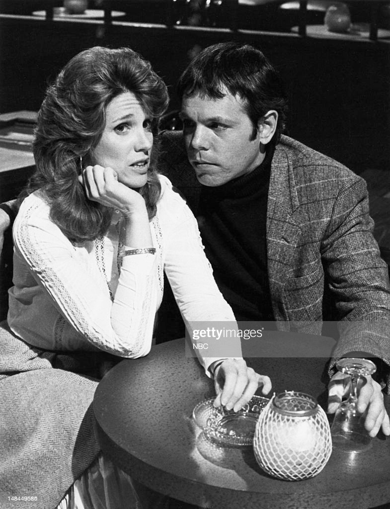 BLUES -- 'Invasion of the Third World Body Snatchers' Episode 218 -- Pictured: (l-r) Barbara Bosson as Fay Furillo, Joe Spano as Sgt./Lt. Henry Goldblume --
