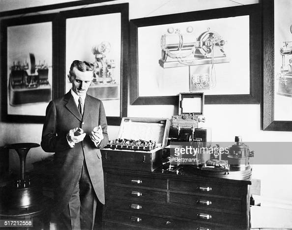 Inventor and discoverer of magnetic field rotations leading to the use of alternatingcurrents in electrical machinery and the induction coil known as...