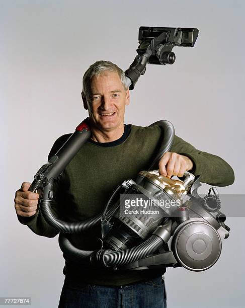 MALMESBURY WILTSHIRE ENGLAND FEBRUARY 1 2007 Inventor and entrepreneur Sir James Dyson KBE born 1947 is best known as the inventor of the Dual...