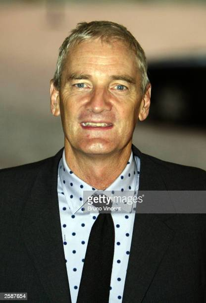 Inventor James Dyson arrives at the Pioneers to the life of the nation reception at Buckingham Palace October 13 2003 in London England