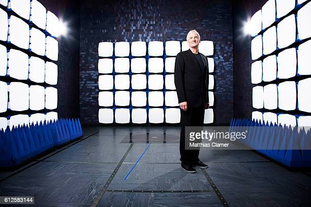 Inventor James Dyson is photographed for Wired UK Magazine on July 14 2011 at the Dyson headquarters in Malmesbury England