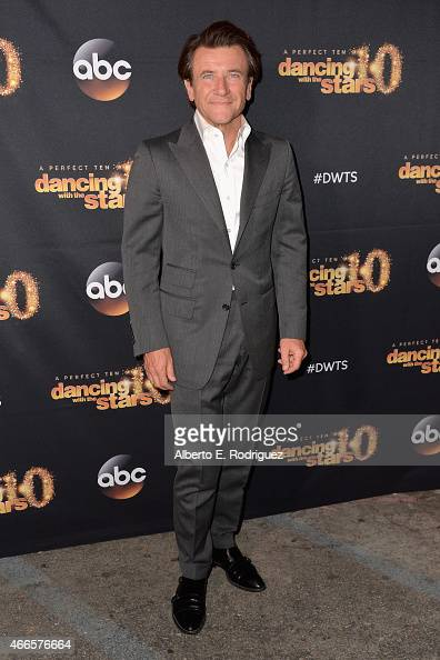 Inverstor Robert Herjavec attends the premiere of ABC's 'Dancing With The Stars' season 20 at HYDE Sunset Kitchen Cocktails on March 16 2015 in West...