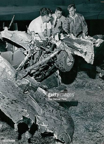 JUN 19 1970 Investigators Pick Through Wreckage as probe into cause of plane