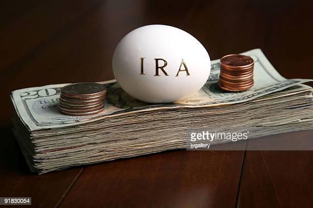 Geld investieren in eine IRA