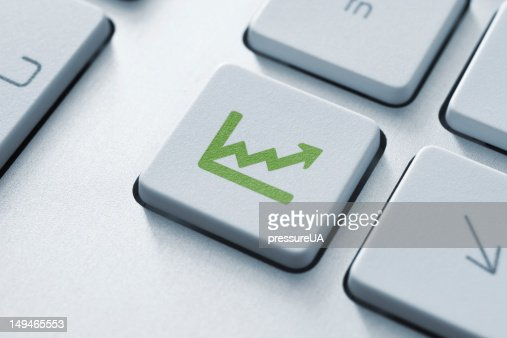 Investment key : Stock Photo