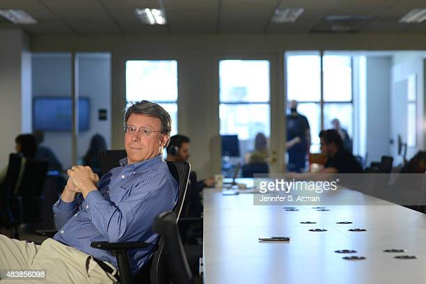 Investor Don Dodge is photographed for Boston Globe on April 1 2015 in New York City PUBLISHED IMAGE