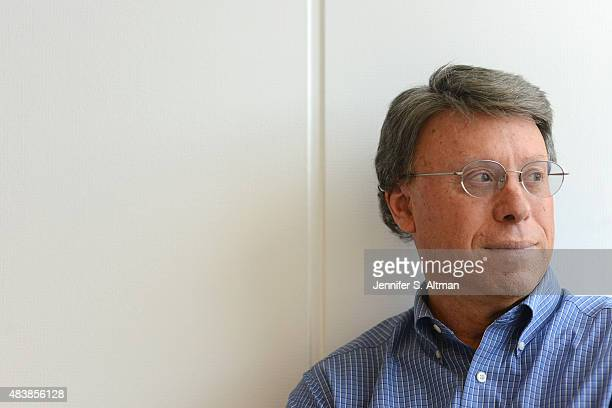 Investor Don Dodge is photographed for Boston Globe on April 1 2015 in New York City