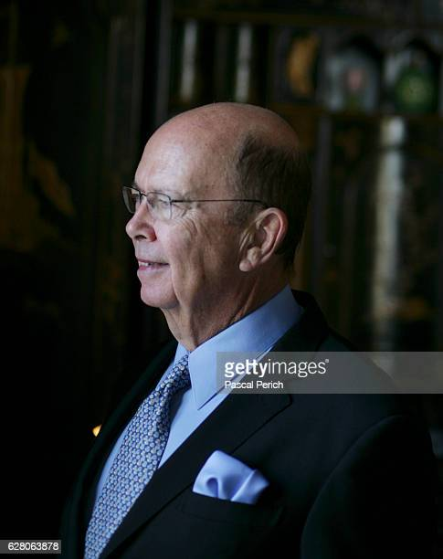 Investor Wilbur Ross is photographed for Financial Times on January 31 2007 in New York City