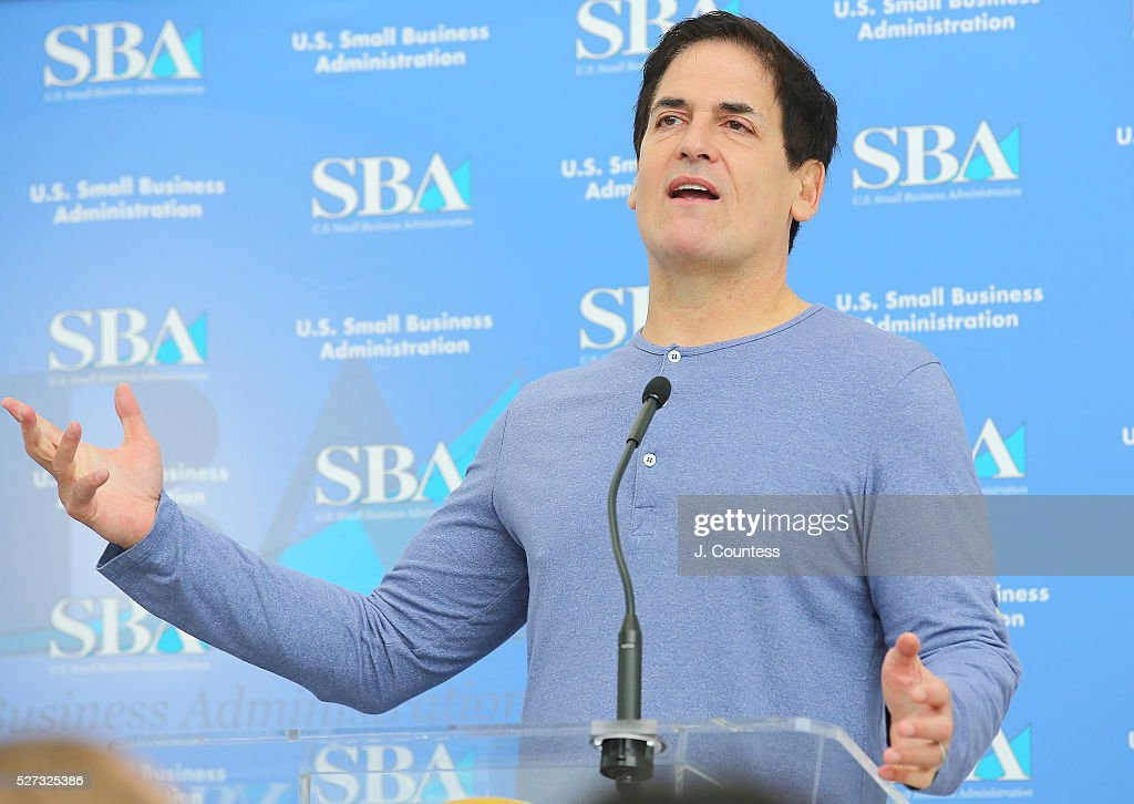 Investor/media personality Mark Cuban speaks on Day 2 of National Small Business Week 2016 at the United States Institute of Peace on May 2, 2016 in Washington City.