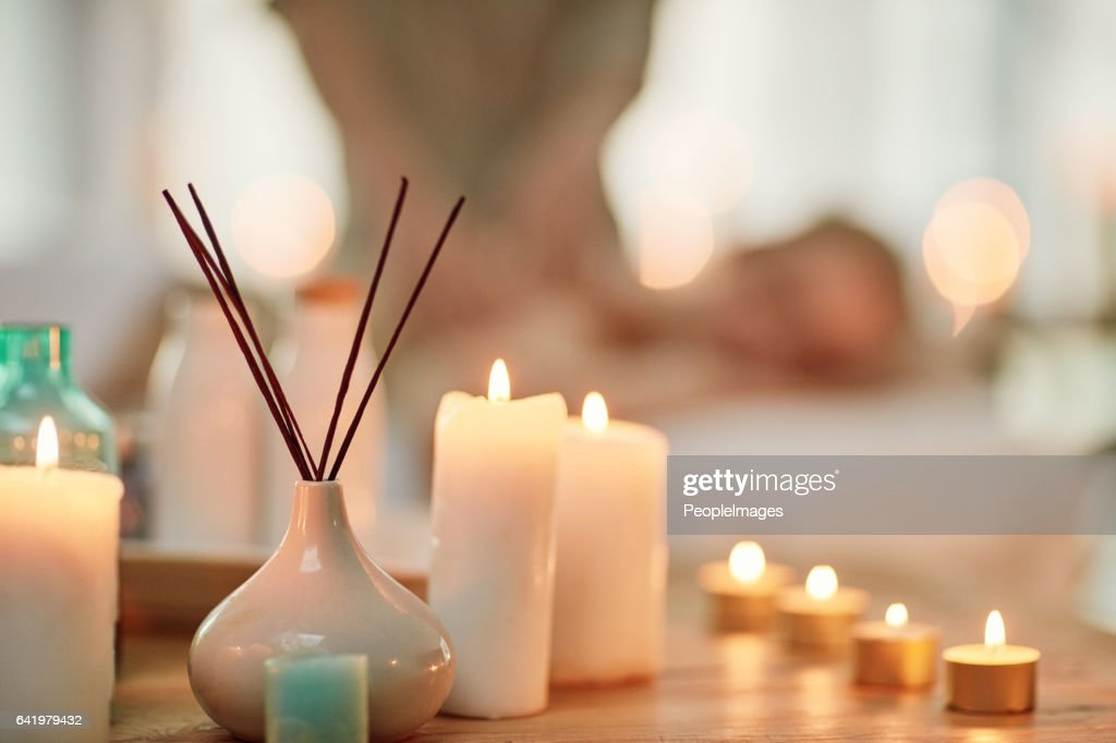 Invigorate your senses with a day at the spa : Stock Photo