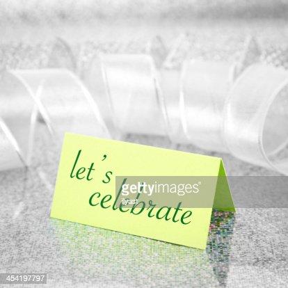 Invitación : Foto de stock