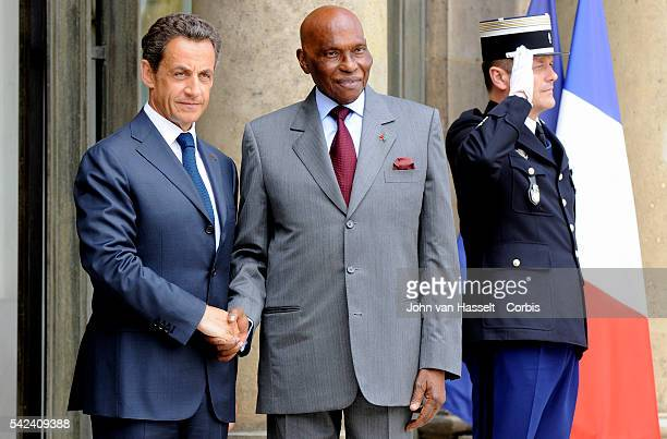 Invited for the Bastille Day celebrations 12 African leaders of the exFrench colonies who are celebrating 50 years of independence meet with...