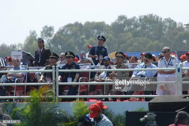 Invites dignitaries at inaugural ceremony at Aero India 2009 Asias premier air show at Air Force station Yelahanka in BangaloreThe show aims at...