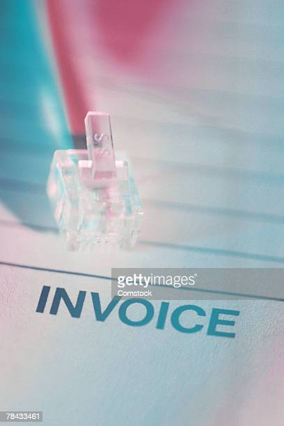 Invoice and phone jack