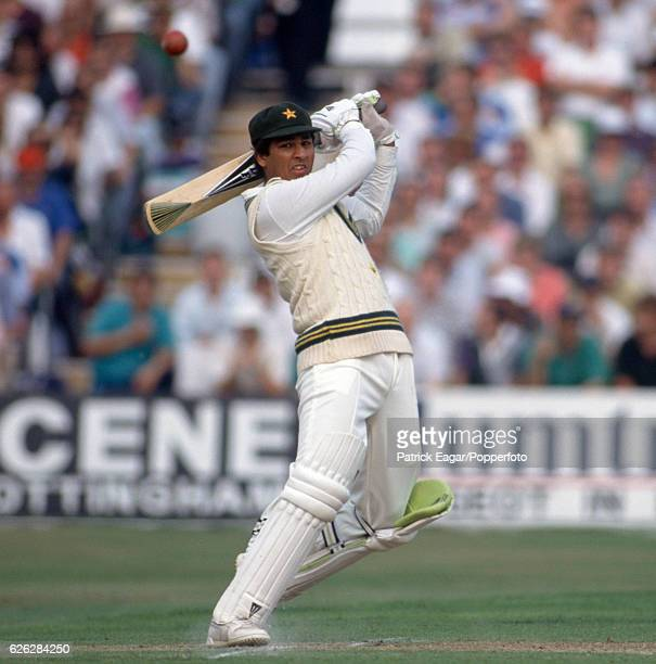 InzamamulHaq batting for Pakistan during the 3rd Texaco Trophy One Day International between England and Pakistan at Trent Bridge Nottingham 20th...