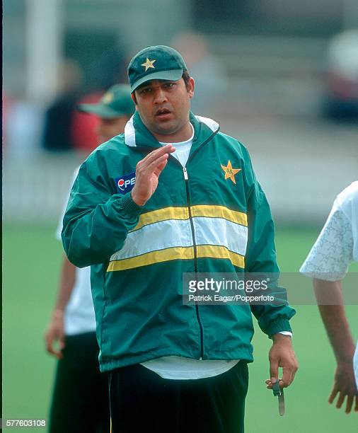 InzamamulHaq of Pakistan during the Pakistan tour of England 16th May 2001