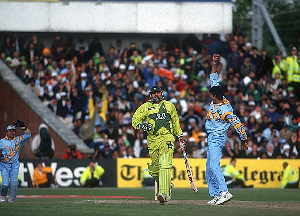 ICC Cricket World Cup - India v Pakistan : News Photo