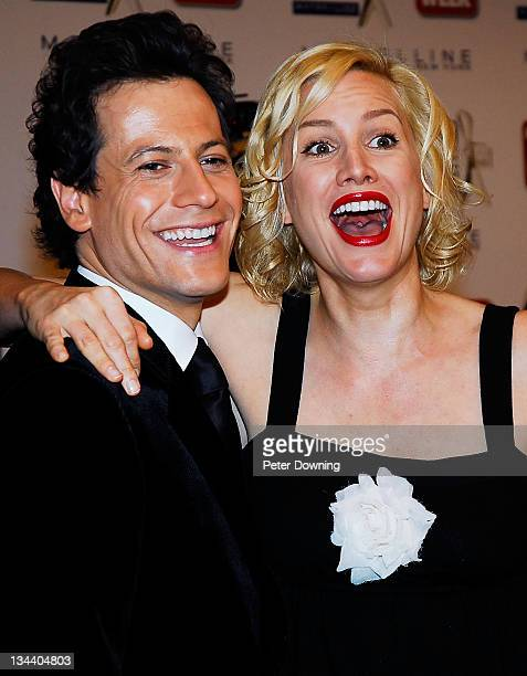 Ioan Gruffudd and Alice Evans during 2007 TV Week Logie Awards Arrivals at Crown Casino in Sydney NSW Australia