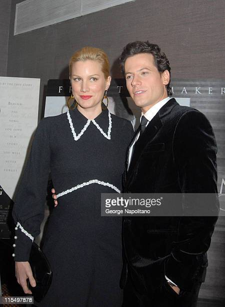 Ioan Gruffudd and Alice Evans during 'Amazing Grace' New York City Premiere February 12 2007 at Cinema I in New York City New York United States
