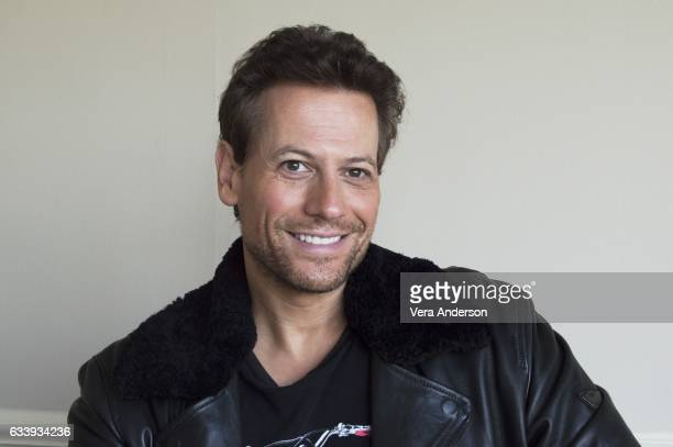 Ioan Gruffudd at the 'Liar set visit' on location at the Tollesbury Marina February 3 2017 in Tollesbury United Kingdom