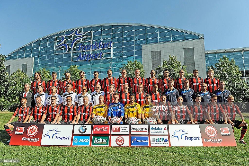 Eintracht Frankfurt Team Presentation