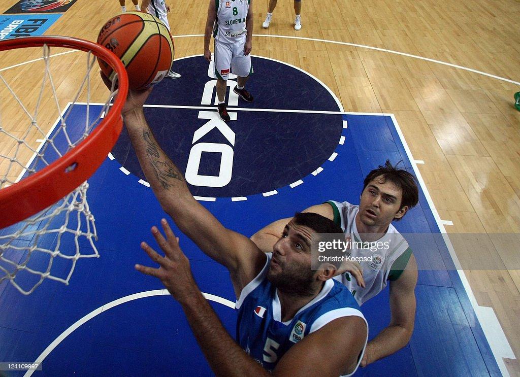 Slovenia v Greece - EuroBasket 2011