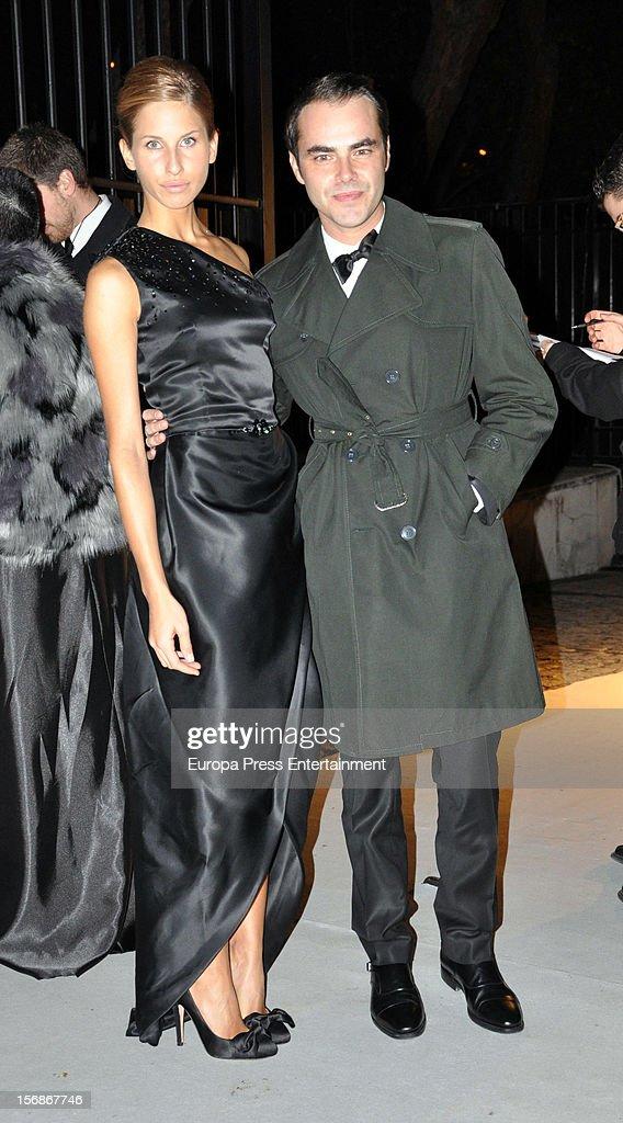 Ion Fiz arrives at Marie Claire Prix de la Moda Awards 2012 on November 22, 2012 in Madrid, Spain.
