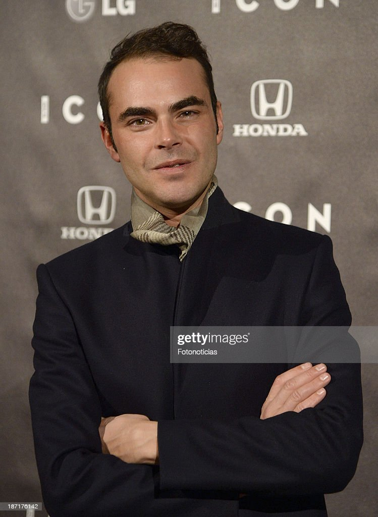Ion Fiz attends 'Icon' magazine launch party at the Circulo de Bellas Artes on November 6, 2013 in Madrid, Spain.