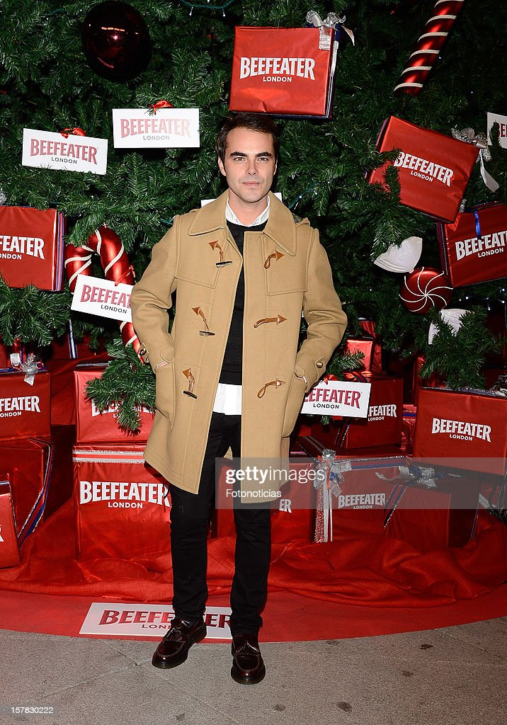 Ion Fiz attends the inauguration of Beefeater London Market at the Palacio de Cibeles on December 6, 2012 in Madrid, Spain.