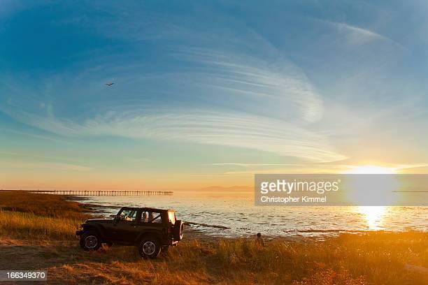 Iona Beach Sunset.