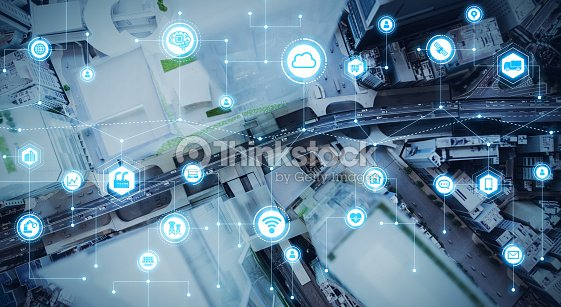 IoT (物事のインターネット) の概念。 : ストックフォト