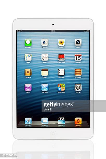 iPad mini with clipping path