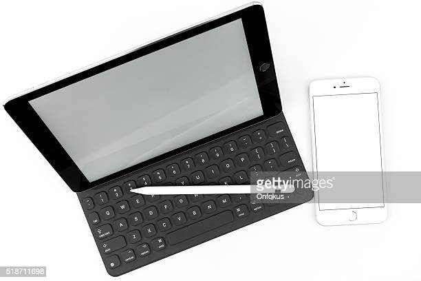 Pro pour iPad et IPhone 6 Plus isolé et élégant clavier