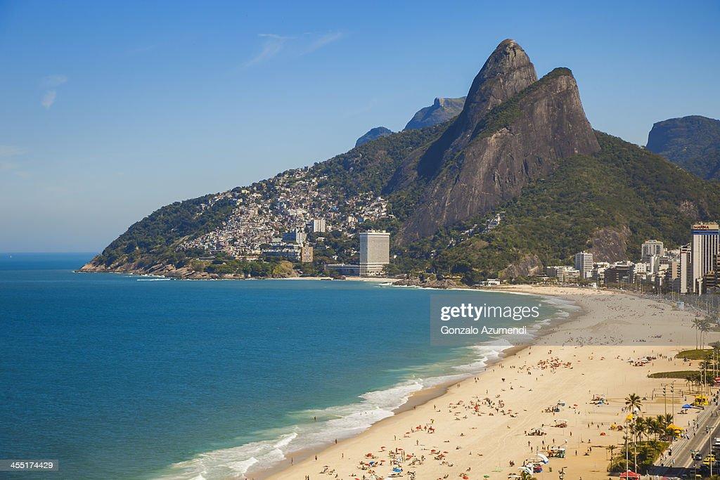 Ipanema and Leblon beaches in Rio de Janeiro.