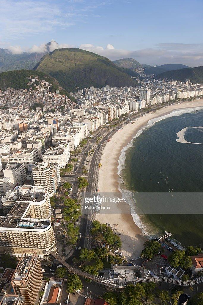 Ipanema Beach, Rio de Janeiro, Brazil : Stock Photo