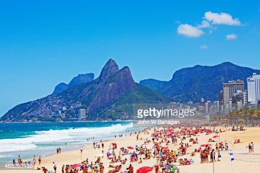 Ipanema Beach, Rio de Janeiro,Brazil