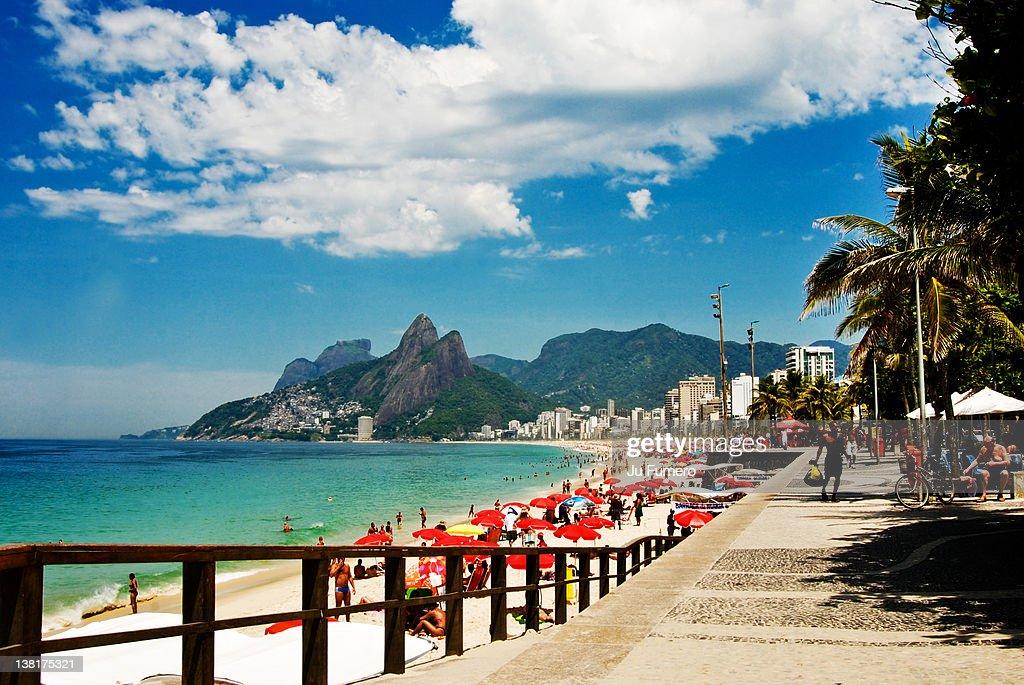 Ipanema beach walk
