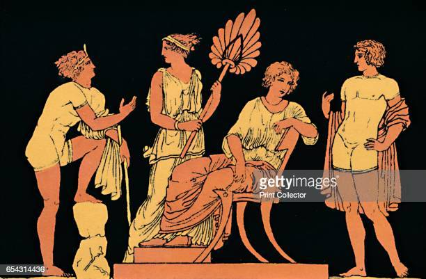 Iphigenia and Orestes 1880 Orestes was the son of Clytemnestra and Agamemnon who killed his mother in revenge for his fathers death Iphigenia was his...