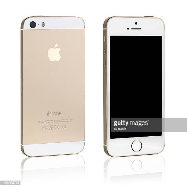 iphone 5s Gold back and front view