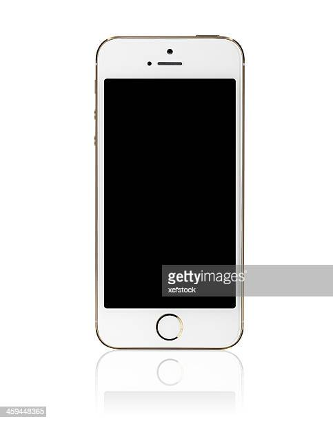 iPhone 5s Gold with a Blank Screen