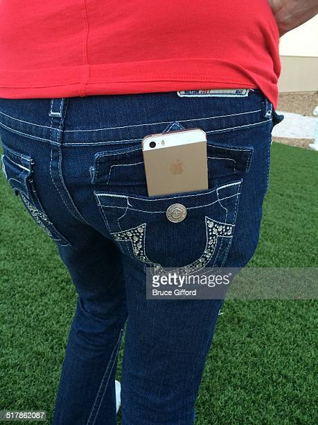 iPhone 5S in back pocket