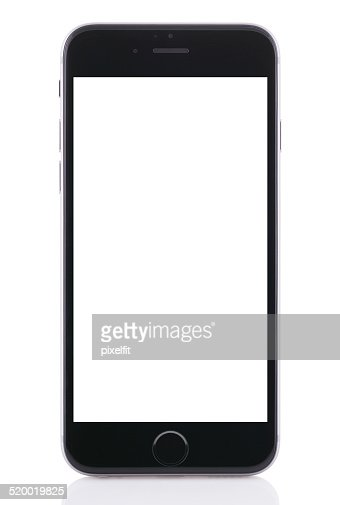 Iphone 6 with clipping path