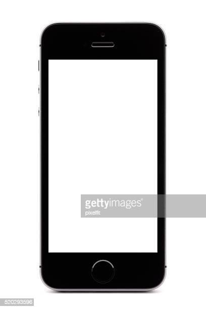 Iphone SE on white background