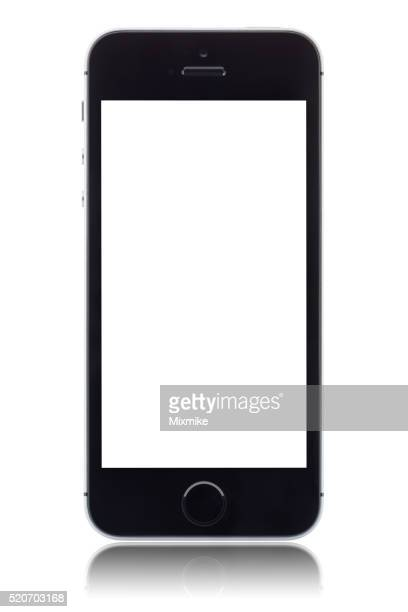 iPhone SE with blank screen